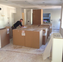 Cabinet Delivery and Sorting