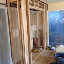 Framing - Pantry Closet
