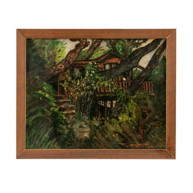 1954 Oil on Canvas - Tree House