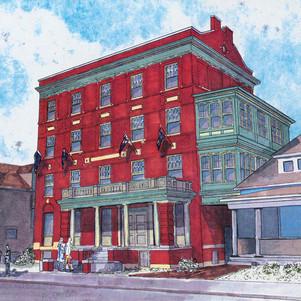 Rendering - St. Clair Hotel