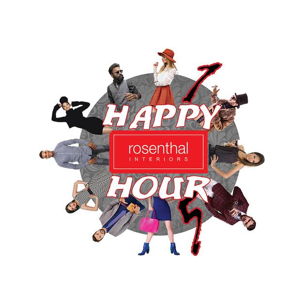 Happy Hour Graphic - Rosenthal Interiors, Minneapolis