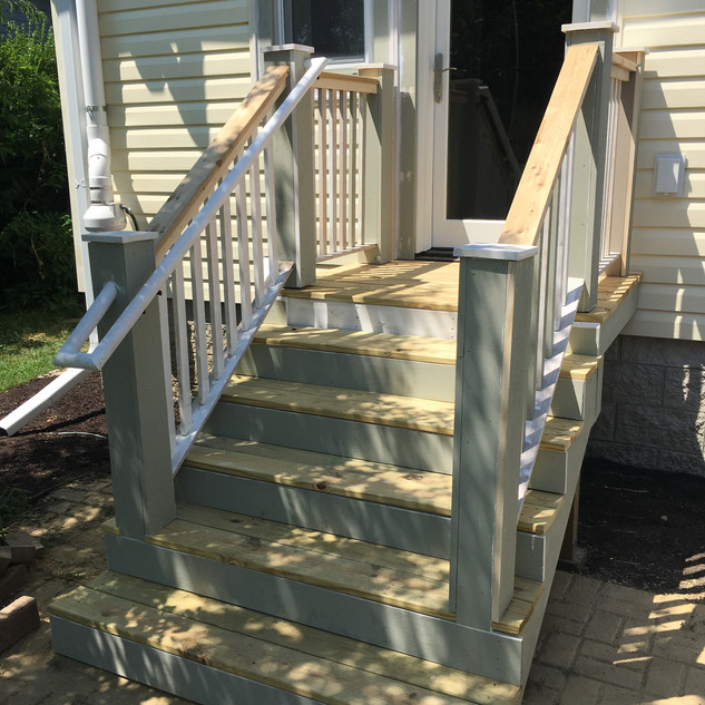 Kelso - New Porch