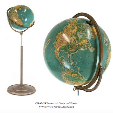 CRAM's Terrestrial Globe on Wheels