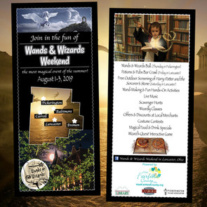 Wands & Wizards - Promotional Card for Visit Fairfield County