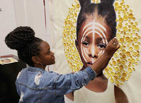 How Activist Nneka Jones Used Her Art To Advocate For Social Justice