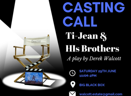 Casting Call: Ti Jean and His Brothers