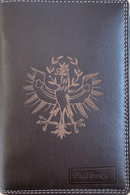 Passhülle aus echtem Leder