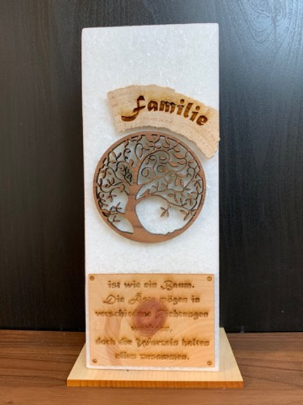 "Familienkerze ""Lebensbaum"""