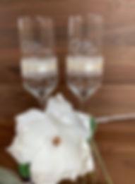 Hochzeitsglas individuell graviert