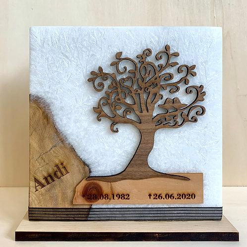 Trauerkerze Lebensbaum