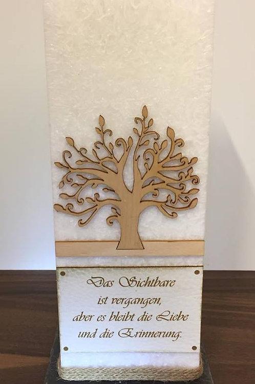 Trauerkerze  Lebensbaum 25 cm