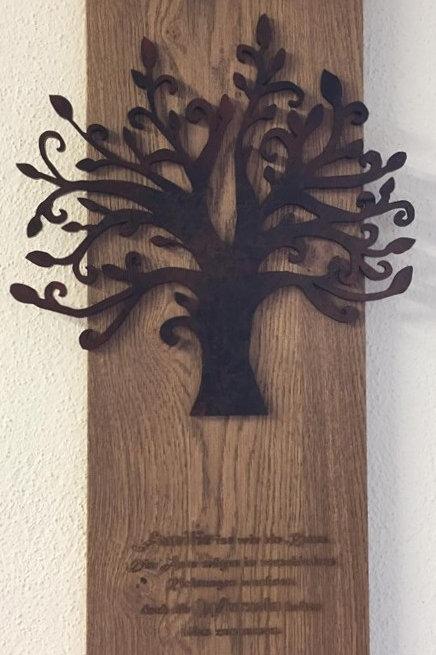 Bild mit Lebensbaum