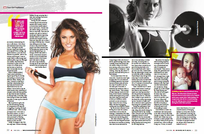 Health and Fitness spread 2015