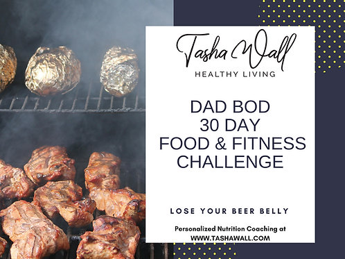 Dad Bod 30 day food & fitness challenge