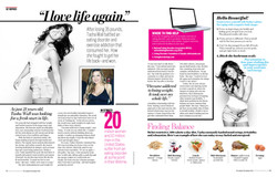 Strong Magazine spread