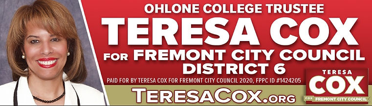 Ohlone Trustee Teresa Cox for Fremont Ci