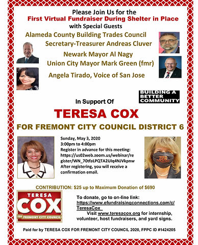 INVITE - 2020 Fremont City Council First