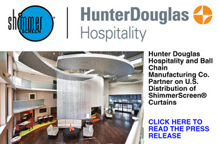 Hunter Douglas Hospitality and Ball Chain Manufacturing Co . Partner on US Distribution of ShimmerSc