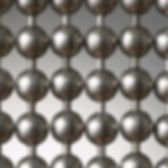Aluminum ball chain cutain sample picture