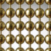 yellow brass ball chain cutain sample picture