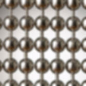 Nickle plated steel or brass ball chain cutain sample pictures