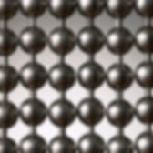 gun metal ball chain cutain sample picture