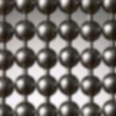 gun metal ball chain cutain sample picture