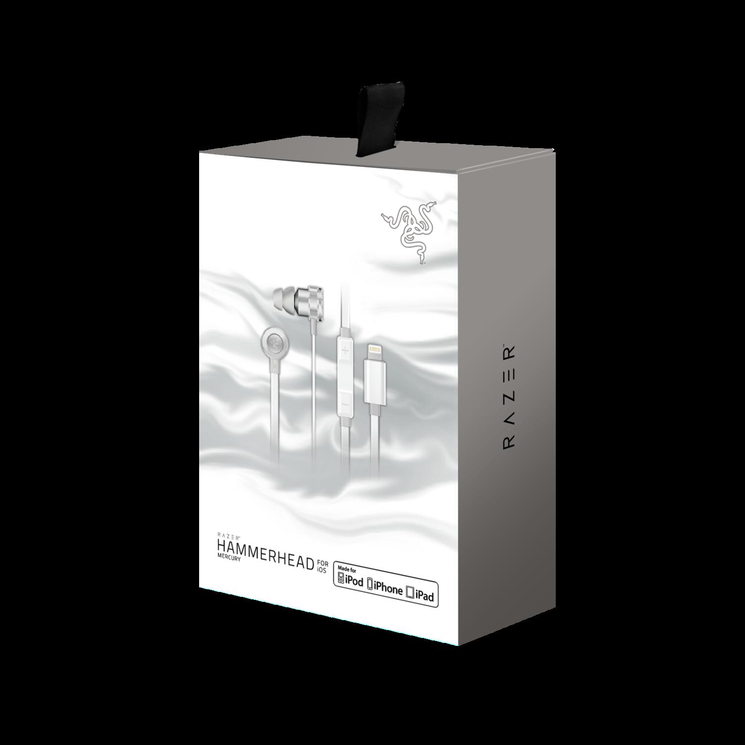 Razer Hammerhead For IOS - Mercury Edition