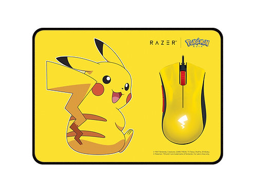 Razer | Pokémon – Pikachu Limited Edition Mouse + Mat Bundle