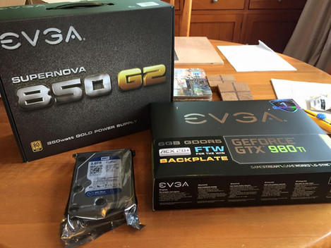 EVGA Product Unboxing