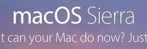 macOS Sierra... Interesting...