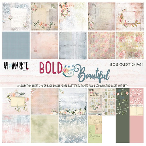 49 and market - Bold and Beautiful: 12×12 Collection Pack