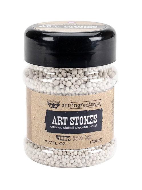 Finnabair art stones white - 7.77oz
