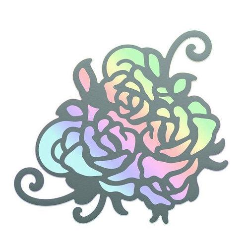 Rosy hot foil stamp
