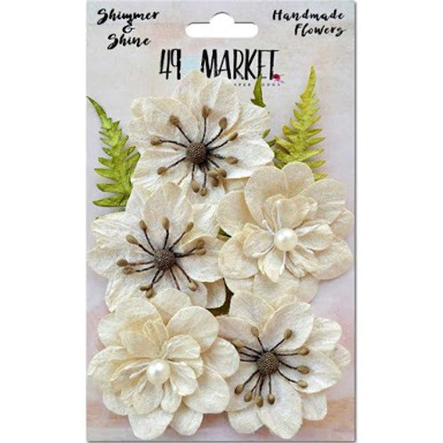 49 and Market, Flowers, Shimmer and Shine - Ivory Secret
