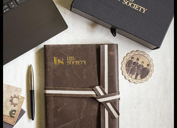 Chocolate - Memoir leather bound journal