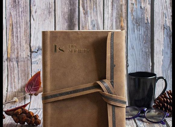 Raw Sienna - Memoir Leather Bound Journal