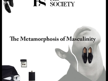 The concept of masculinity is changing.............