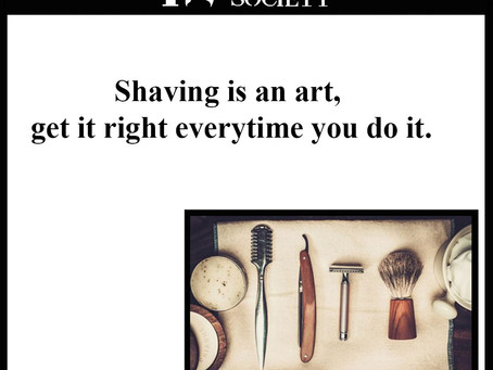 Shaving is an art. Once mastered with a help of a few tips, it will feel like an easy task.