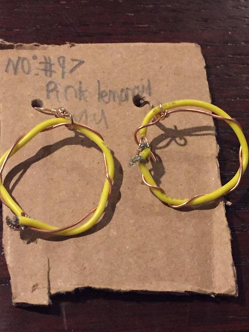 Pink Lemonaid Earrings