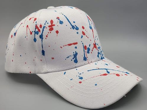The Splattered American Flag Hat