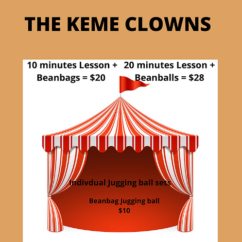 20 minutes basic juggling session