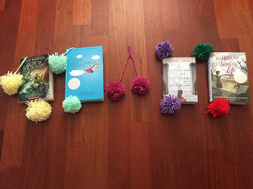 Pom Poms Bookmarks