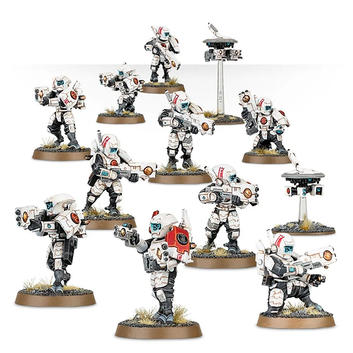 Tau Fire Warriors Breacher team