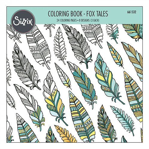 SIZZIX FOX TAILS COLORING BOOK
