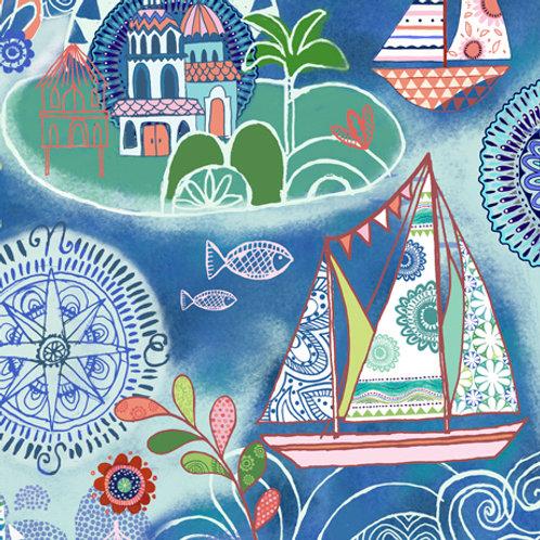 Quilting Treasures Dream Boat