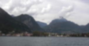 Riva del Garda, ancestral home of artist Mia Pryce
