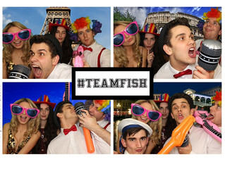 Team Fish Photo Booth