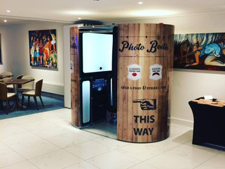 Photo Booth Hire Saunton Sands North Devon