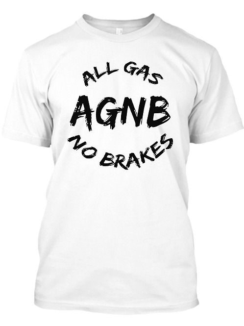 AGNB Paint Brush - White T-Shirt